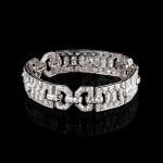 Art Deco diamanten armband